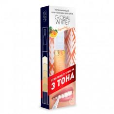 Отбеливающий карандаш-апликатор со вкусом фруктов global white