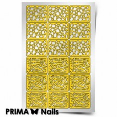 Prima Nails, Трафареты «Камни»