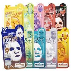 маска для лица тканевая elizavecca deep power ring mask pack
