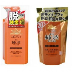 жидкое мыло для тела с экстрактом хурмы max taiyounosachi ex body soap