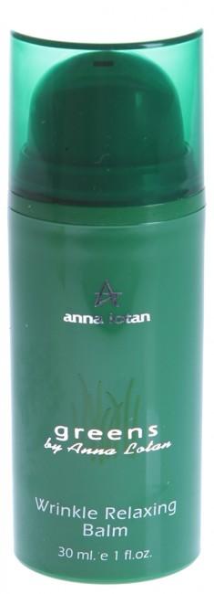 ANNA LOTAN Крем против морщин Гринс / Wrinkle Relaxing Balm GREENS 30 мл