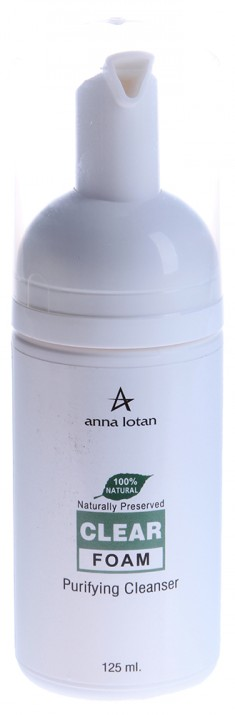 ANNA LOTAN Пенка очищающая Клир / CLEAR Foam 125 мл