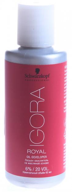 SCHWARZKOPF PROFESSIONAL Лосьон-окислитель на масляной основе 6% / Игора Роял 60 мл