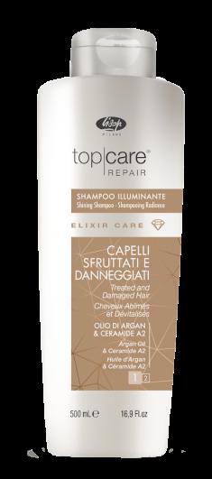 LISAP MILANO Шампунь-эликсир для восстановления и придания сияющего блеска / Elixir Care Shampoo 500 мл
