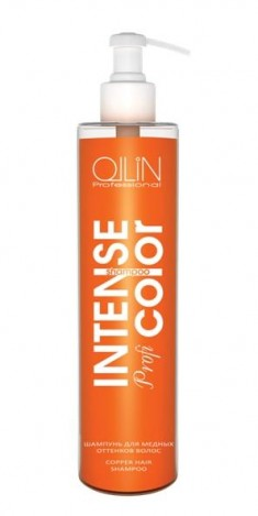 OLLIN PROFESSIONAL Шампунь тонирующий для медных оттенков волос / Copper hair shampoo INTENSE Profi COLOR 250 мл
