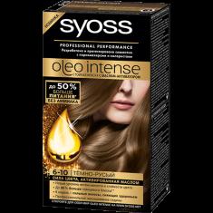 Краска для волос SYOSS OLEO тон 6-10 Темно-русый 50 мл
