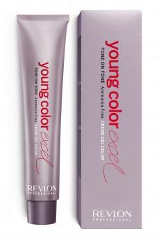 REVLON Professional 8-01 крем-гель полуперманентный, светлый блондин тоффи / YOUNG COLOR EXCEL 70 мл