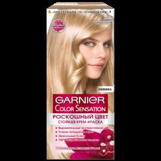 Краска для волос GARNIER COLOR SENSATION тон 8.0 Переливающийся Светло-русый
