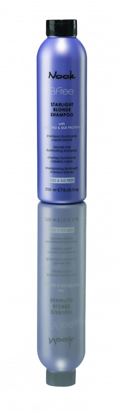 NOOK Шампунь сияющий для волос цвета блонд / Starlight Blonde Shampoo BFREE 250 мл