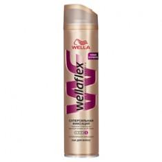 WELLA Лак для волос супер-сильной фиксации Wellaflex 400 мл