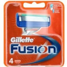 GILLETTE Сменные кассеты для бритвы Gillette Fusion 6 шт.