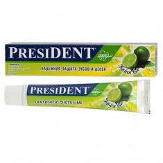 Президент Junior зубная паста от Лайм 50мл President