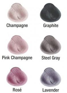 KIS Color Ash-blond Metallics Graphite Краситель для волос Графит 100 мл