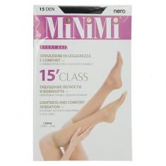 Гольфы женские MINIMI CLASS 15 den Nero 2 пары