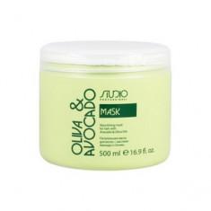Питательная маска с маслами авокадо и оливы для волос, 500 мл (Kapous Professional)
