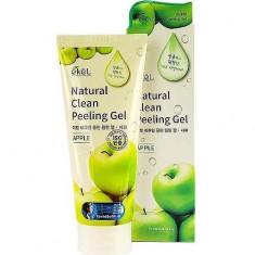 Пилинг-скатка с экстрактом зеленого яблока Apple Natural Clean Peeling Gel Ekel