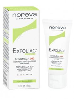 Норева (Noreva) Эксфолиак Акномега-200 Крем для жирной и смешанной кожи с акне 30 мл