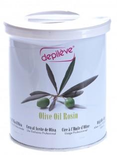 DEPILEVE Воск в банке, оливковый 800 г