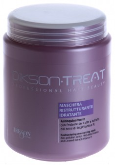 DIKSON Маска восстанавливающая увлажняющая для волос / RESTRUCTURING MOISTURIZING MASK 1000 мл
