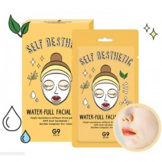 маска для лица тканевая увлажняющая berrisom g9 self aesthetic waterful facial mask