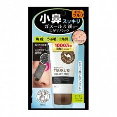 Tsururi Special Care Маска-пленка против черных точек черная с марокканской вулканической глиной, 55г B&C Lab