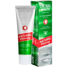 Зубная паста Natural Whitening Global White