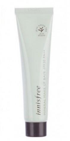 База-праймер минеральная зеленая INNISFREE Mineral Make Up Base Vanilla Green SPF30