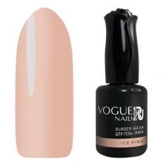 Vogue Nails, База для гель-лака Rubber, Ice Pink, 18 мл