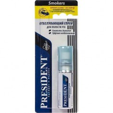 Спрей для полости рта отбеливающий Smokers President