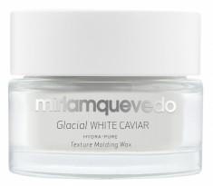 MIRIAM QUEVEDO Воск моделирующий увлажняющий с маслом прозрачно-белой икры для волос / Glacial White Caviar Hydra-Pure Texture Molding Wax 50 мл