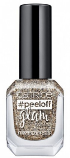 Лак для ногтей CATRICE PEELOFF GLAM EASY TO REMOVE EFFECT NAIL POLISH 03 When In Doubt, Just Add Glitter