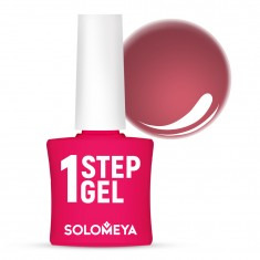 SOLOMEYA Гель-лак однофазный для ногтей, 13 бурбон / One Step Gel Bourbon 5 мл