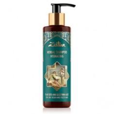 Увлажняющий фито-шампунь со льном и сокотрийским алоэ для сухих, жестких и кудрявых волос, 200 мл (Зейтун)