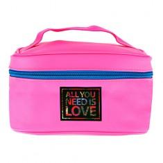 Косметичка-чемоданчик для путешествий LADY PINK фуксия