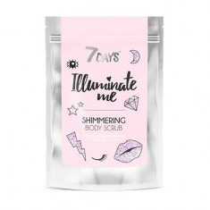 7 Days, Кофейный скраб для тела Illuminate Me, Rose Girl, 200 г Vilenta