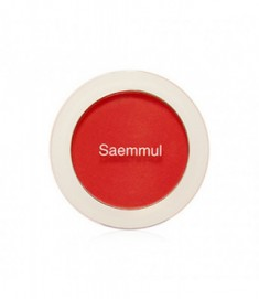 Румяна THE SAEM Saemmul Single Blusher RD04 Carot Red 5гр