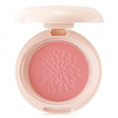 Румяна стойкие мерцающие THE SAEM Saemmul Smile Bebe Blusher 04 Bling Peach(N) 6г