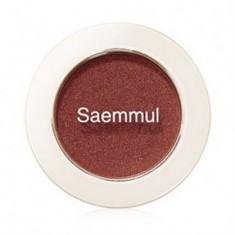 Тени для век мерцающие THE SAEM Saemmul Single Shadow Shimmer BR04 2гр