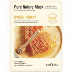 Маска для лица тканевая Secriss Pure Nature Mask Pack-Sweet honey 25мл ANSKIN