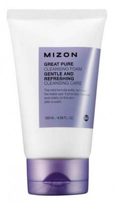 MIZON Пенка для умывания / GREAT PURE CLEANSING FOAM 120 мл