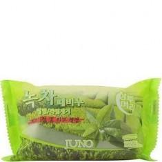 Мыло-скраб с зеленым чаем Juno