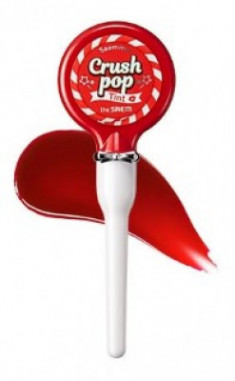 Тинт для губ Saemmul THE SAEM Crush Pop Tint 01 Tomorrow Red 4г