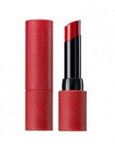 Помада для губ матовая THE SAEM Kissholic Lipstick S RD02 Red Velvet 4,1г