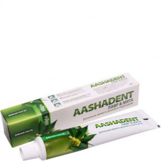 Зубная паста Лавр - Мята Aasha Herbals