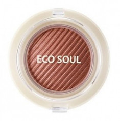 Тени гелевые для век THE SAEM Eco Soul Swag Jelly Shadow 3 Just a moment 4,8г