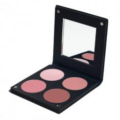 Палетка румян с зеркалом, 4 оттенка Make-Up Atelier Paris BL3DR роза 96г