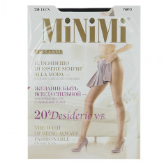 Колготки женские MINIMI DESIDERIO 20 den Nero р-р 2