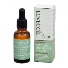 LovEcOil Комплекс Био масел для лица Очищающий для жирной кожи 30мл