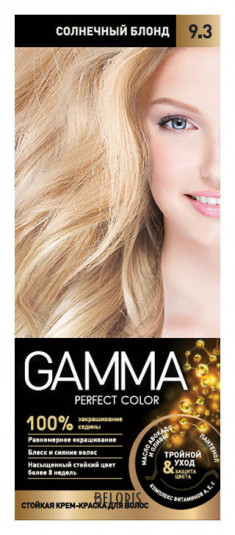 Краска для волос Gamma