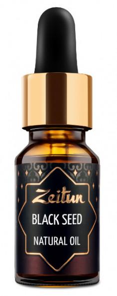 ZEITUN Масло черного тмина, нерафинированное 10 мл